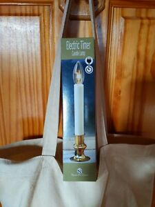 ELECTRIC CANDLE LAMP WITH TIMER