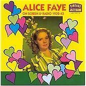 On Screen And Radio 1932 - 43, Faye, Alice, Very Good