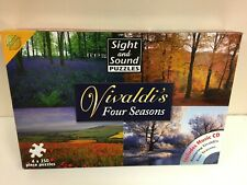 Vivaldi's Four Seasons Jigsaw 4 X 250 Jigsaw set VGOOD condition - EXCLUDES CD