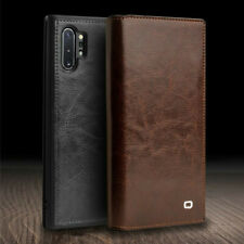 Original Qialino Real Leather Slim Flip Case For Samsung Note 10 Plus 5G S10 S9+