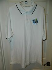 """""""DISNEY"""" Men's POLO in EXCELLENT Con Sz Large January 2006 Embroidered Graphics"""