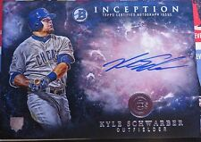 2016 Bowman Inception KYLE SCHWARBER Rookie Auto Card Cubs World Champs 2016!!