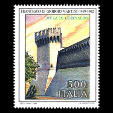 Italy 1989 - Fortified Walls of Corinaldo Architecture - Sc 1785 MNH