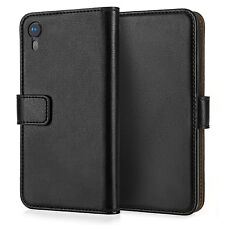 Apple iPhone XR 6.1 Genuine Real Leather Wallet Case Best Flip Phone Cover Uk