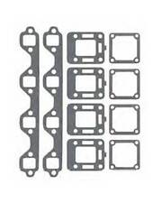 Manifold Gasket Set for Mercruiser Ford 302 351 V8 Log Style replaces 27-54566A1