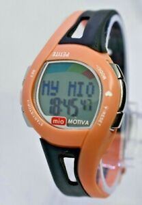 Women's MIO Motiva Petite Heart Rate Monitor Watch HRM, Pink/Black, Calorie Mgmt