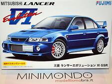 Fujimi Id-102 Mitsubishi Lancer Evolution VI GSR 1/24 Scale Kit