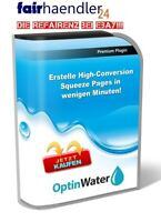 OPTIN WATER erstelle leicht High Conversions Squeeze Pages OptinWater App 1A PLR