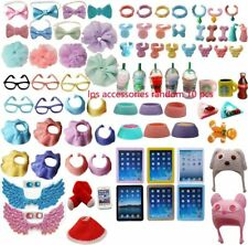 LPS Accessories Lot Clothes Glasses Collars Food Drink Earring Outfit For LPS