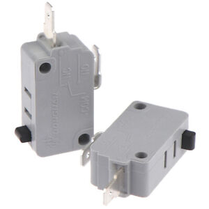 2Pcs Microwave Oven KW3A Door Micro Switch Normally Close 125V/2 ToTEUSUNUSJBBI