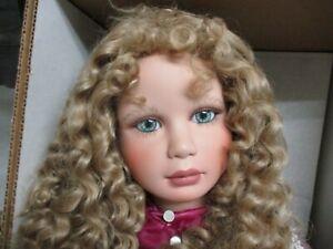 "Victorian Virginia Ehrlich Turner Vinyl Girl Doll 30"" Elizabeth Retired 83/150"
