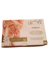 Glove Treat Parasilk at home coconut & lavender oil hand treatment X4 uses sz M
