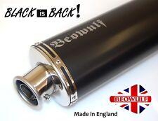 Suzuki GSF600 Bandit (95-04) Round Black Silencer Exhaust Muffler Beowulf 450mm