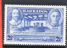 Barbados GV1 1939 Gen. Assembly 2.1/2d, sg 260 VLH.Mint