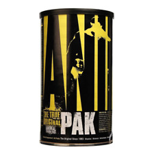 UNIVERSAL NUTRITION ANIMAL PAK MULTIVITAMINS Energy, Endurance, Stamina, Immune