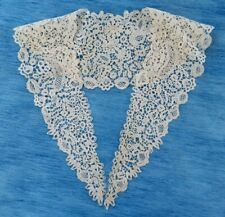 More details for an antique honiton bobbin lace collar