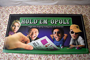 Hold 'Em-Opoly Edition Board Game Replacement Parts & Pieces Poker Monopoly