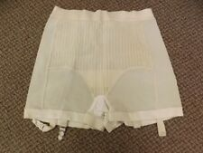 Sexy Shape Vtg 1950s 60s NEW NOS Materna Girdle Garters Panties XL Rayon Rubber