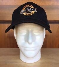 California Portland Cement Black & Gold A-Flex Hat Cap Sz L/X-Lg