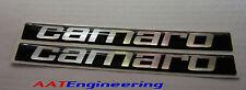 76 77 78 79 80  CAMARO 2nd Gen 3D Door Handle Inserts Emblem Domed Decals ~NICE