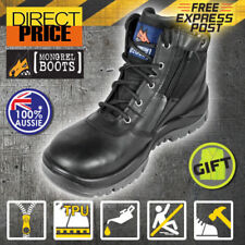 Mongrel Work & Safety Lace Up Boots for Men