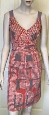 Jacqui E Polyester Hand-wash Only Geometric Dresses for Women