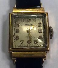Orologio vintage RICHON LORSA 7 11940/1950 circa funzionante ORO 18kt  18/4/16