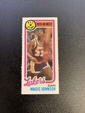 Magic Johnson 1980-81 Topps All-Star #18 Rookie RC Card Los Angeles Lakers