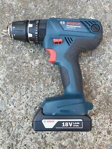 Bosch GSB 18V-21 Cordless combi hammer drill driver + 18V 1.5Ah lithium battery