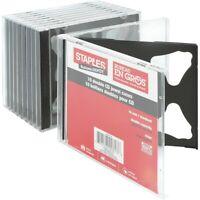 Staples Double CD Jewel Cases 10/Pack (10379-CC) 392009