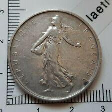 G03510 monnaie argent 5 francs semeuse 1967  702305 ex