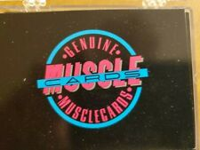 Muscle Cards Series 1 Complete 104 card set in snap top box MINT CONDITION