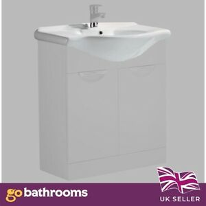 550mm Standard Replacement Basin To Fit Vanity Unit Premium Ceramic Sink Only