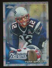 2010 Topps Chrome XFractor Tom Brady New England Patriots