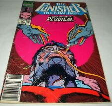 The Punisher The Final Days- Pt 7 of 7- Requiem  Vol 2 No. 59 Jan 1992 (Ref1/29)