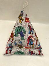 Handmade Ipad /Mini / Kindle Tablet Bean Bag Cushion Stand - Marvel Hulk Batman