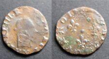 Henri III, Double Tournois RARE Sd, Y (Bourges) o sous le buste