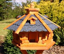 SONDERPREIS !! Vogelhaus, Vogelhäuser behandelt blau Typ 4