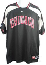 VTG CHICAGO BULLS WARM UP SHOOTING JERSEY NIKE TEAM MENS XL (CA-A)