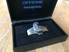 OFFICINE PANERAI OEM 22mm BRUSHED STAINLESS STEEL DEPLOYMENT BUCKLE