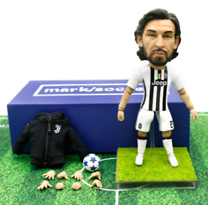 NEW Cool Toy Star Andrea Pirlo Sport Gift Soccer Doll Action Figure 13cm