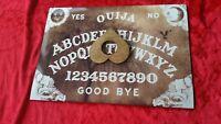 Wooden Ouija Board game & Planchette Instructions. Spirit hunt Bizarre Ghost