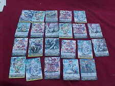 CARDFIGHT VANGUARD ROYAL PALADIN LOT OF 44 CARDS IN RED SLEEVES
