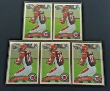LOT OF (5) 2011 TOPPS CHROME A.J. GREEN RC #150 BENGALS