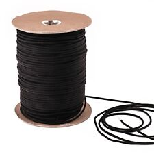 Parachute 550 Type III Multi Purpose Paracord in 1000 Black 100 FT Feet