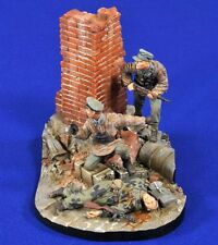 "Verlinden 1/35 ""Homeland Defense"" Germany WWII Vignette (3 Figures w/Base) 2780"