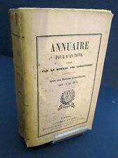 Annuaire pour l'an 1899 avec des notices scientifiques bureau des longitudes