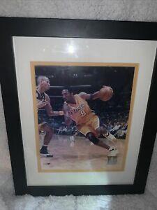 Los Angels Lakers Kobe Bryant 2000 NBA Finals Championship Licensed Frame Photo