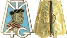 4° Groupement de Tabors Marocains, doré dos lisse embouti Drago Paris (réf 2094)