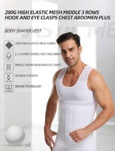 High Elastic Mesh Chest Abdomen Plus Body Shaper Abdomen Slimming Waist Trainer